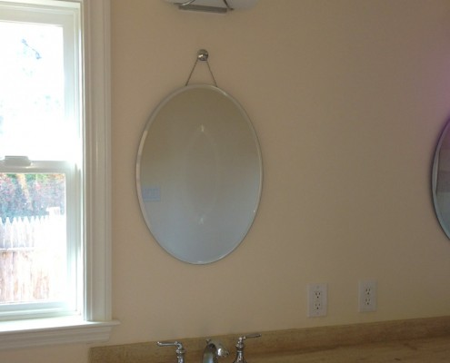Oak Electric Home Remodel Bathroom Lighting