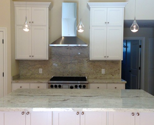 Oak Electric Home Remodel Kitchen Lighting